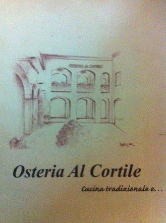 Montecchio Emilia, Italy: Osteria al Cortile