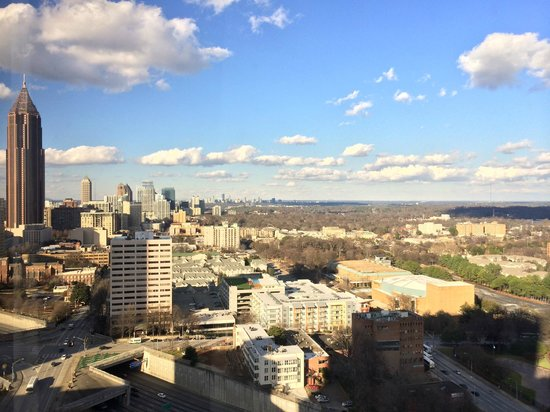 Hilton Atlanta: Day view