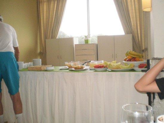 Hotel Golf Internacional : Una de las mesas buffet del desayuno