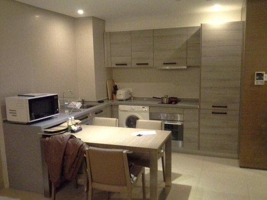 Ascott Maillen Shenzhen: The kitchen