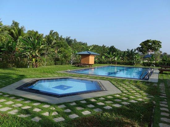 The Hideout Sigiriya: le magnifique jardin et la piscine