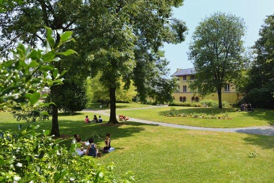 Jardin de coria centre ville les herbiers vend e photo p for Piscine des herbiers
