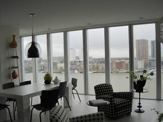 De Rotterdam View From An Apartment
