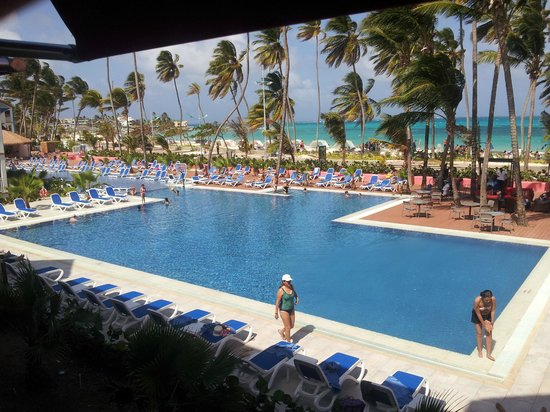 Decameron Isleno: View from my second floor room