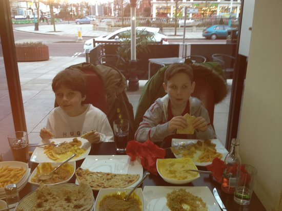 Saahil Indian Restaurant: Special portions catered for kids