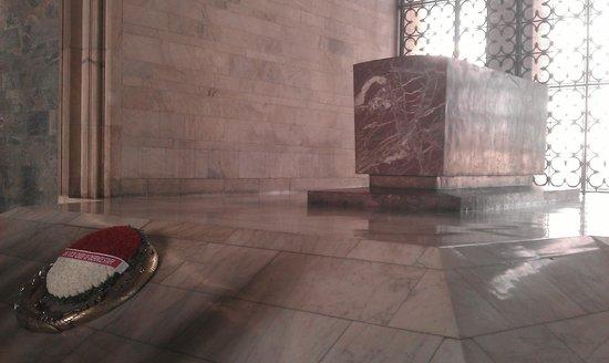 Le mausolée Anitkabir : Inside
