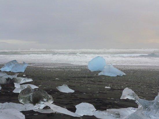 Gletscherlagune Jökulsárlón: Glacial Ice