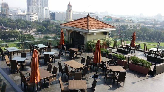The Bayleaf Intramuros : Skydeck view