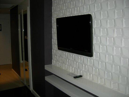 The Bayleaf Intramuros : Sharp LCD tv