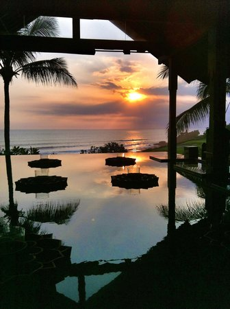 Pan Pacific Nirwana Bali Resort: Vista dalla hall