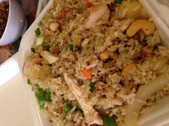 Sawasdee Thai Food: Pineapple rice