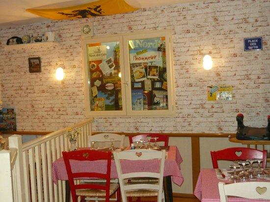 Restaurant Epicerie La Chicorée : la fenêtre sur le Nord