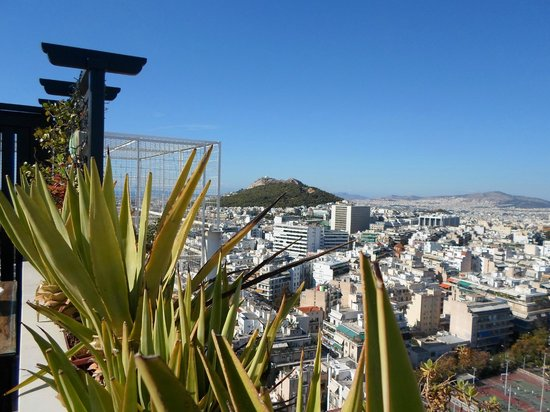 President Hotel : Vista do Terraço