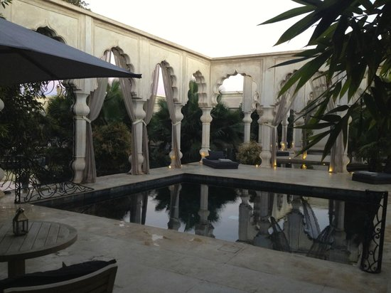Palais Namaskar: suite - private pool