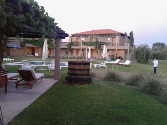 Villa Mansa Wine Hotel & Spa: vista de sur a norte