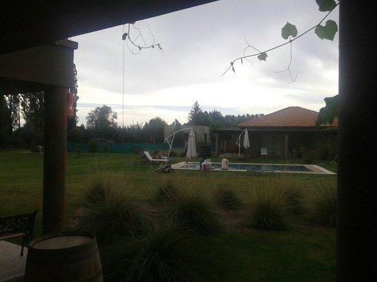 Villa Mansa Wine Hotel & Spa: vista de norte a sur