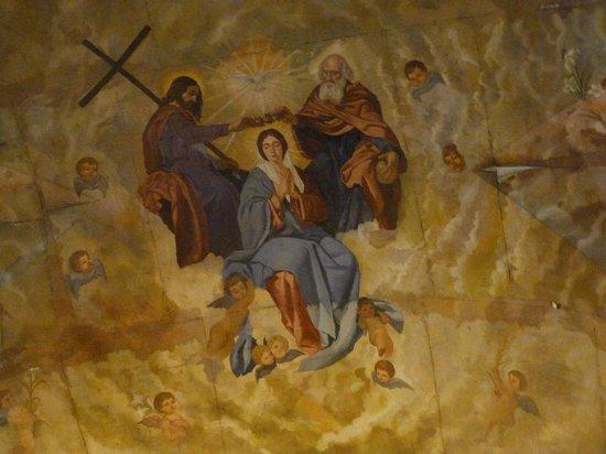 Parroquia de Santa María de África: Techo Capilla Mayor