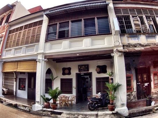 Guest Inn Muntri : Guest house converted from old shophouse.
