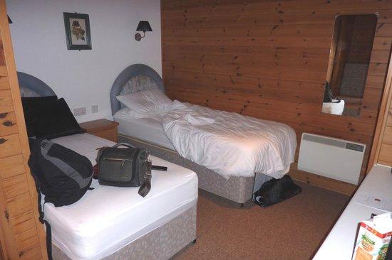 Baltasound Hotel: Cosy cabin!
