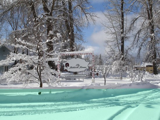 The Bidwell House B&B Inn: Winter