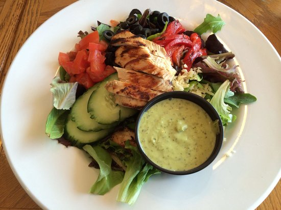 Mountain Grill: Southwest salad.