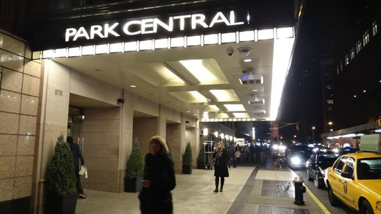 Park Central Hotel New York: Entrance