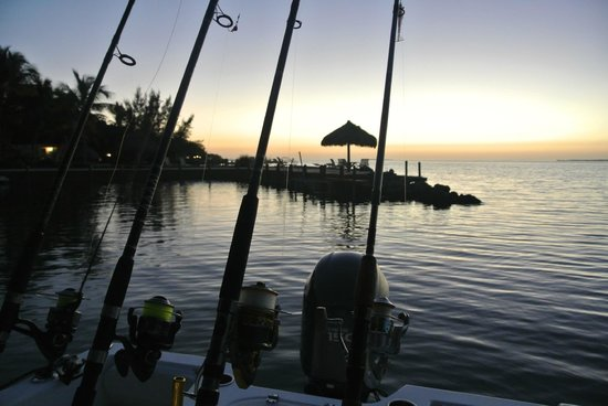 Rock Reef Resort: Great for fishing