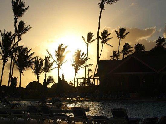 VIK Hotel Arena Blanca: Sonnenuntergang