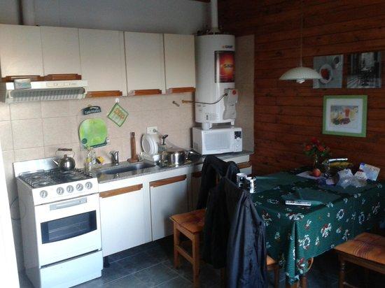 Cabanas Normana Inn: Cocina-comedor