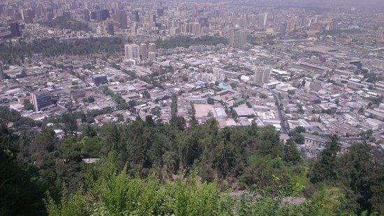 Parque Metropolitano de Santiago - Parquemet : sin palabras