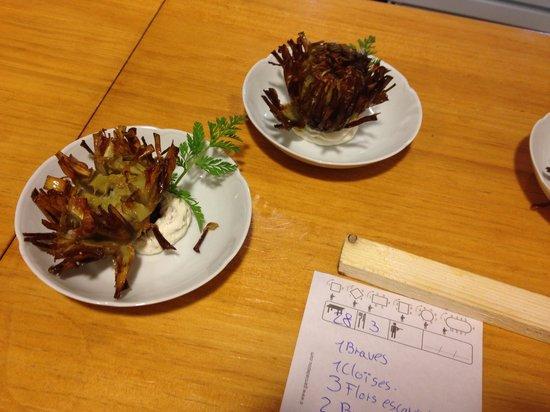 Cal Music Taverna: La flor de alcachofa