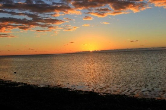 Long Key State Park: Awesome sunrise.  Just peek out your tent and this is what you see