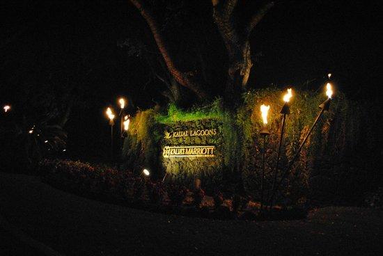Kaua'i Marriott Resort : Hotel Entrance