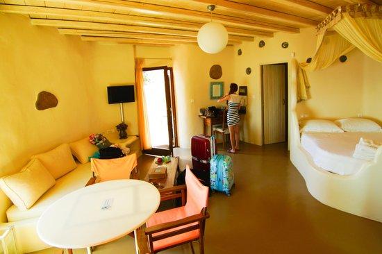 Castle Panigirakis: sweet room