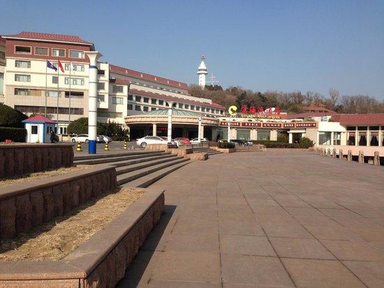 Golden Gulf Hotel : Front of Hotel