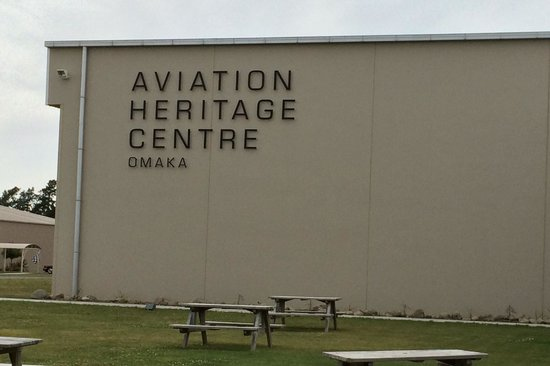 Omaka Aviation Heritage Centre: Entrance