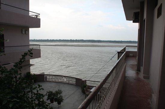 Hotel Alka: Vistas del Ganges