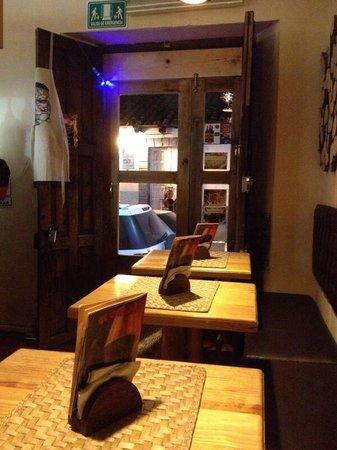 El Chalet Frances : In totaal 4 tafels