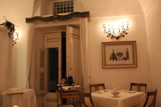 interior restaurante Al Palazzo