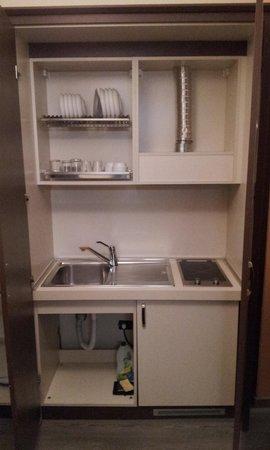 Residence La Repubblica: Cozinha