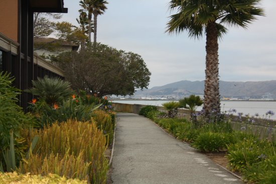 Bay Landing Hotel: Walkway to Elephant Bar