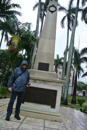 Monument in Parliament Square