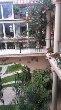 Hotel Boutique Mi Pueblo Samary: le patio