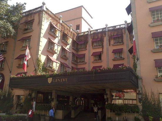Hotel Geneve Ciudad de Mexico : Fachada principal
