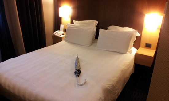 Mercure Roma Piazza Bologna : Boa cama