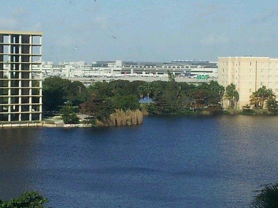 Hampton Inn & Suites by Hilton - Miami Airport / Blue Lagoon: The lagoon