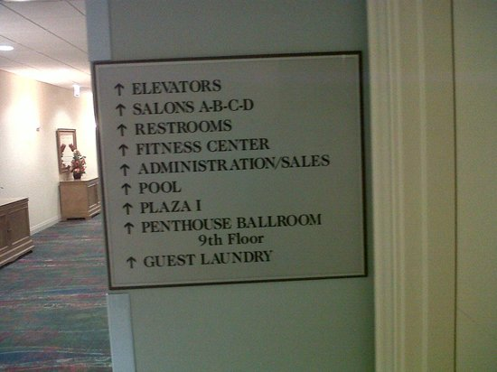 Edward Hotel Chicago: note this directions