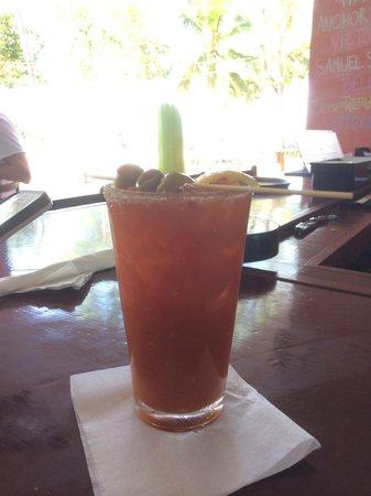 La Copa Llena at The Black Eagle: Ive's deliciously spicy Bloody Mary