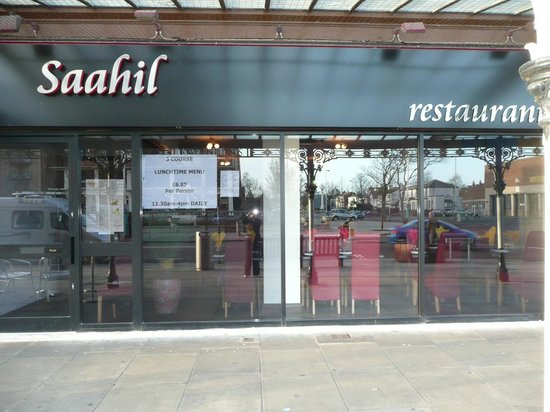 Saahil Indian Restaurant: Saahil in the heart of southport on the famous lord street