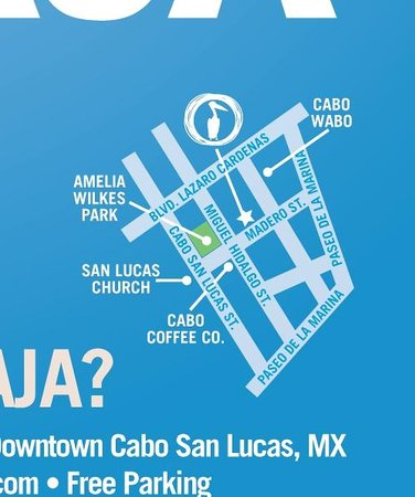 Marejada Baja Bistro & Barra : How to get to us !!